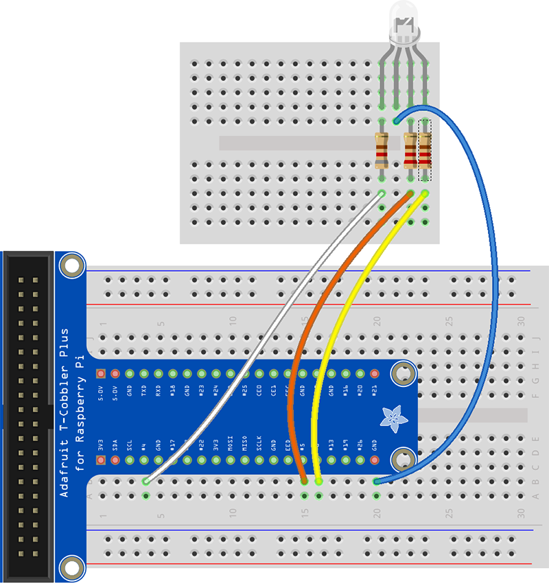 working with led s and wiring 4 pin rgb led to raspberry pi rh einhugur com Raspberry Pi Diagram Raspberry Pi Diagram